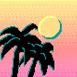 Palm Trees and Pixels